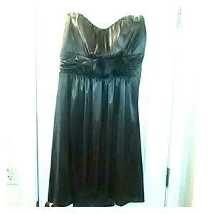 Grey cocktail dress